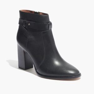 Madewell Sammie B6106 Leather Ankle Boot Booties